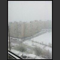 Śnieżny czerwiec w Murmańsku...
